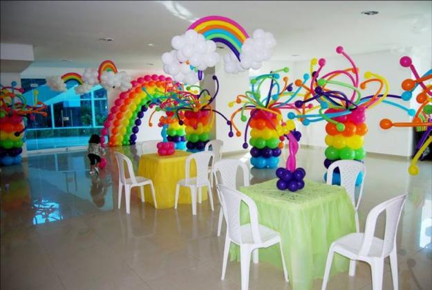 Decoración de fiestas para niña de 1 año - Imagui
